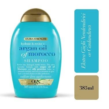 Organix Extra Güçlü Argan Şampuan 385Ml Renksiz